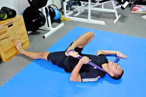 Piriformis Stretch Rows 3